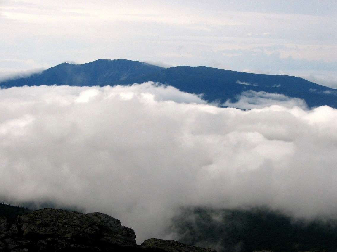 Peakbagging in maine july and august 2005 katahdin lay to the south dark and foreboding sitting in a sea of clouds north traveler lay close by to the north and peak of the ridges to the west with publicscrutiny Gallery